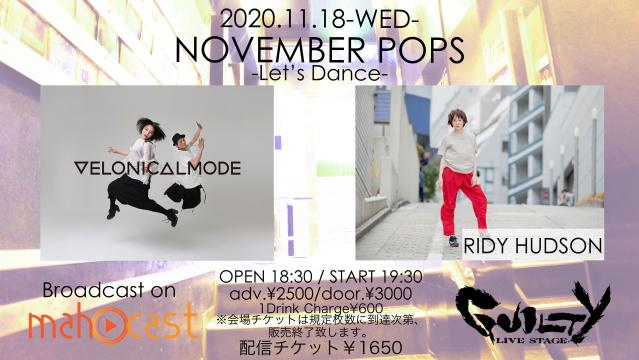 NOVEMBER POPS-Let's Dance-